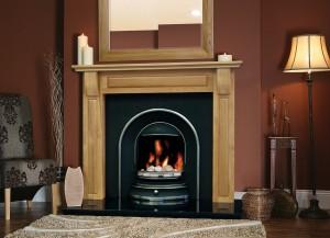 Torino Solid Oak Fireplaces