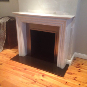 Madrid Marble Fireplace