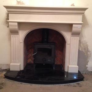 Newbridge Marble Fireplace