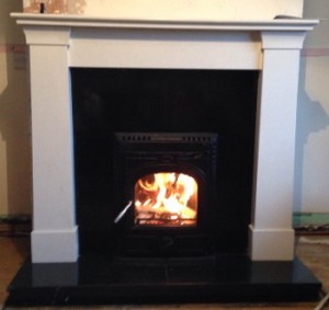 Oslo Fireplace with 4kW